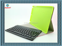leather bluetooth keyboard case for ipad air 5