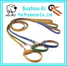 Adjustable Leather Neck Collar Buckle Collar for Dog