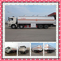 Shanqi Shacman Fuel tanker Vehichle 8x4 Refueling bowser truck for carrying oil fuel 8000 gallon