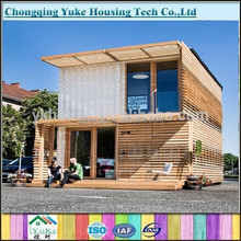 2015 China latest design low cost prefabricated wooden house for sale