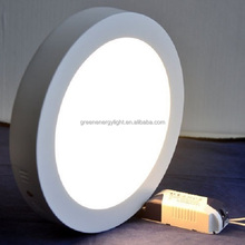 Hot Sale Round Square 18W Dimmable Led Panel Lights Surface Mounted Led Downlights Warm Natural Cool white