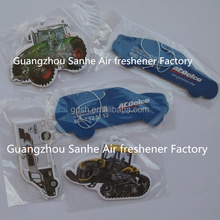 factory price car shape hanging paper air freshener