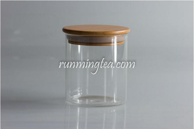 glass jar canister with wood lid buy glass jar with wood lid glass jar wood lid wooden lid. Black Bedroom Furniture Sets. Home Design Ideas