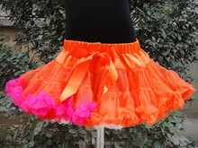 Best-selling purple with black halloween cool girl's pettiskirt