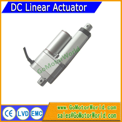 With 10K Potentiometer signal feedback 12V 198LBS load 200mm 8inch stroke electric linear actuator LA12