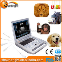 Hand-carried vet ultrasound for ultrasound scanner animal