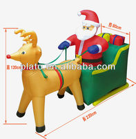 inflatable christmas stocking/new christmas decoration 2013