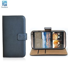 For Htc One E9+ Book Stand Flip Leather wallet Case Cover