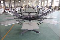 4/6/8 station silkscreen printing manual machine for t shirts