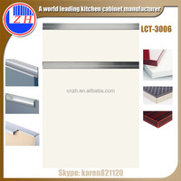 European standard new model white melamine louvered kitchen cabinet doors