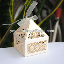 hot sell european wedding favor and gift box for wedding and chrismas party occasion
