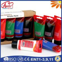 APSIS,Eco , 75ml*6 colors Acrylic Effect Paints SET