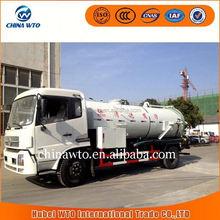 2015 novos produtos dongfeng tianjin 4 x 2 vácuo caminhão de sucção de esgoto para venda