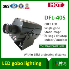 40W indoor LED gobo projector for weddings and events