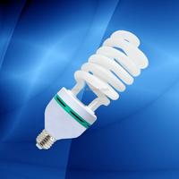 100% tri-color E27 6400k cfl light, energy light lamp, save energy lamp 85w half spiral bulb
