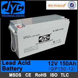sealed lead acid used car and truck battery for sale