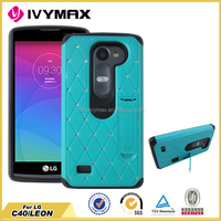 low price china mobile phone for LG C40 LEON/LS665 tpu diamond case