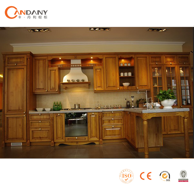 China factory supply modular solid wood kitchen cabinet for Useful kitchen cabinets