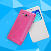 Nillkin Sparkle flip PU leather hard plastic back cover case for samsung galaxy on5