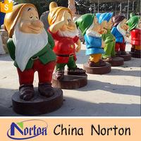 fiberglass seven dwarf garden decoration statue NTRS-CS330S