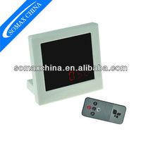 4.7 Inch HD Mirror Clock Digital Video Camera Recorder DVR with Remote Control