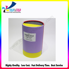 Custom Design Paper Cylinder Box for Cosmetic Packaging