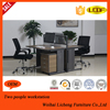 2 person modern height adjust computer desk table/office table