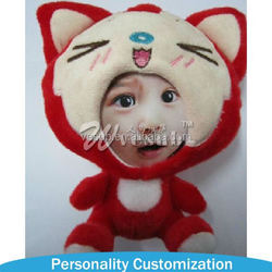 New Arrive Factory Direct Sale 3D Face Doll fashion little girl models doll