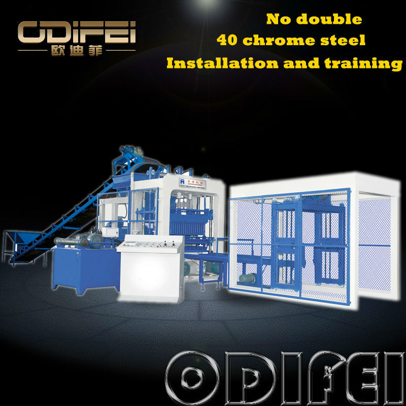 Super quality with reasonable price QT10-15 mobile cement block making machine