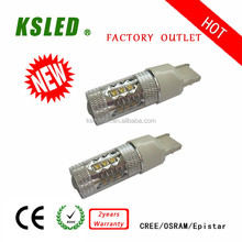 Better quality 9-30V 7443 led car lamp 7440 7.5w auto led lighting T15 T20 S25 3-80W BA15S P21W 3-80W IP 67 CE ROHS 2 years