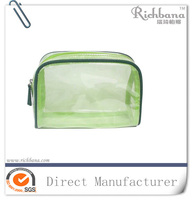 Fashion PVC cosmetic packing bag with zipper