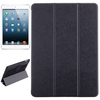 OEM Service Silk Texture Leather for iPad Air Tablet Case with Hand Strap