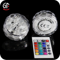 Home Decorations Wholesale Alibaba Water Floating Remote Control Led Candle For Christmas Party