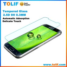 mobile clear lcd screen protector packaging with design for Samsung Galaxy S6 repair accessories