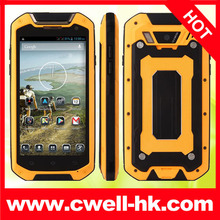 Jaguar V12 Rugged Smartphone IP67 Waterproof MTK6589T Quad Core 4.5 Inch HD IPS Screen Android 4.2 WIFI GPS Dual SIM Card
