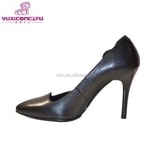 Dernières dames croix de la peau chaussures filles robe chaussures