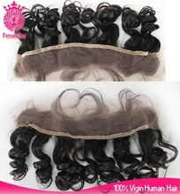 2015 hot new unprocessed chinese virgin hair full lace frontal closures