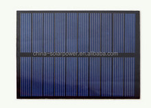 Factory price LED lights solar panel kit mini size epoxy solar module cheap price