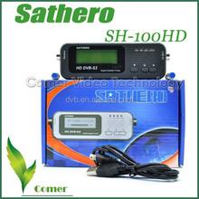 2015 Localizador DE satélite Digital DVB-S2 Sat Finder Sathero SH-100