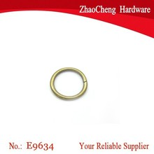 1 Inch Metal O Rings Non Welded Antique Brass