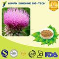 alibaba china fornecedor de frutas milk thistle extrato de fígado herbal remédio