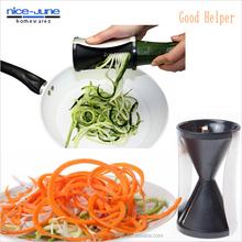 Julienne grater carrot twister spaghetti vegetable spiral slicer