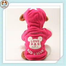 New autumn and winter with cap pet clothes