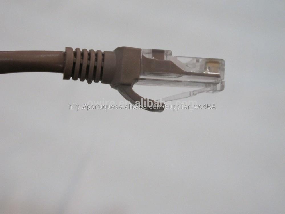 Lan cabo Cat 5e UTP patch cord Cu CCA <span class=keywords><strong>CCS</strong></span>