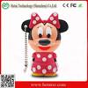 PVC cute mickey mouse shaped usb flash drive, cartoon animal 512gb usb, mickey mouse usb 1tb