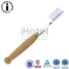 Hotel Wooden Handle Eco-friendly Best Travel Disposable Toothbrush