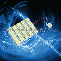 Super White PCB 20SMD 5050 3-Chips LED Light Festoon Dome Bulb Lamp interior accessory