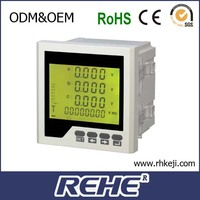 2014 newest analog frequency panel meter electric meter panels three multifunction electrical energy instrument
