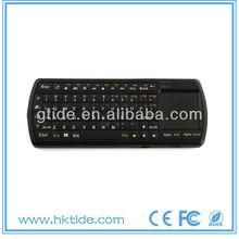 hot selling mini wireless bluetooth backlit keyboard for ipad mini smart tv