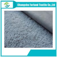 100%polyester fake rabbit fur fabric